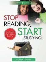 Stop Reading, Start Studying (Children's Workbook)